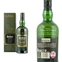 Personalised Ardbeg Uigeadail Single Malt Whisky 70cl Engraved Gift Bottle by Ardbeg