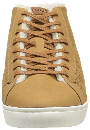 Faguo Herren Aspen Sneaker Braun - Marron (F1640 Camel)