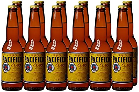 Pacifico Clara Lager, 12 x 355 ml