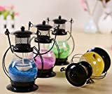 #6: Gifts Loft Gel Glass Candle Lantern Scented Set of 1 (Color As Per Availability)