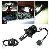 Motorrad Scheinwerferlampe LED Abblend-/Fernlichtset H4 Lampe, 36W 3600 Lumen weiss, 2-seitig Nachrüstung Kit