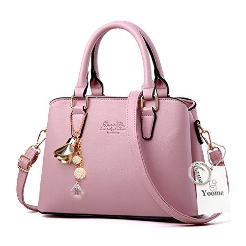 Borse da telaio Yoome per le donne in vendita Borse eleganti in borsa in pelle in pelle per le donne - rosa Rosa