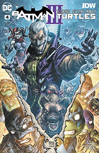 Batman/Teenage Mutant Ninja Turtles III (2019-) #4 (English ...