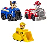 Paw Patrol Racers Set Including Chase, Marshall and Rubble by Spin Master