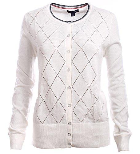 Tommy Hilfiger Damen Strick Pullover, Women's Cardigan Sweater, X-Large