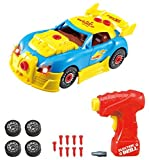 Take Apart Toy Racing Car – Construction Toy Kit For Kids – Build Your Own Car Kit (Version 2!!) – 30 Take Apart Pieces With Realistic Sounds & Lights By ThinkGizmos (Trademark Protected) - ThinkGizmos - amazon.co.uk