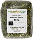 Buy Whole Foods Organic Pumpkin Seeds 500 g