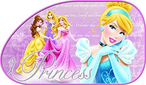 Disney 28212 Prinzessinnen Auto-Sonnenschutz Set Trapez-Form