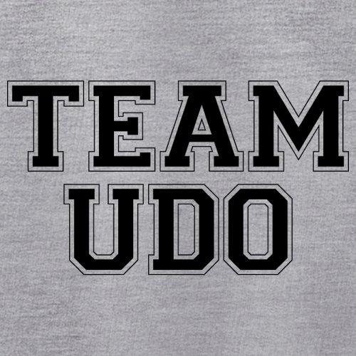 Team Udo - Unisex Pullover/Sweatshirt - 8 Farben Grau Meliert
