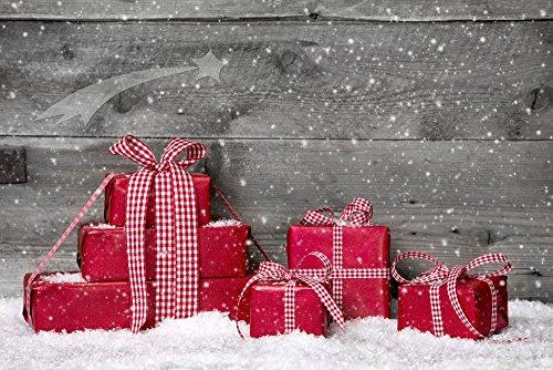 e Holz Zaun Weihnachten Fotografie Hintergrund Prop für Fotografen D-2901 ()
