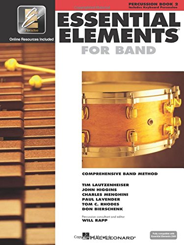 Essential Elements for Band - Book 2 with Eei: Percussion/Keyboard Percussion (Percussion, Book 2)