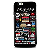 Best Case for iphone 6 plus Friends Cases For Iphone 6s - iPhone 6+ (Logo Cut) Friends Cases and Covers Review