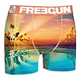 FREEGUN Boxer Homme Summer Collection 2019 (M, Sunrise)