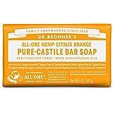Dr Bronner's Pure-Castille Citrus Orange Savon 140 g