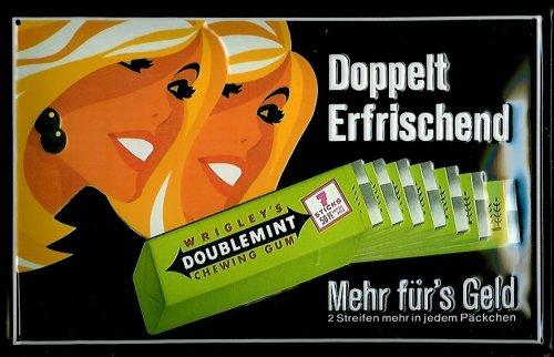 blechschild-wrigley-doublemint-kaugummi-schild-nostalgieschild