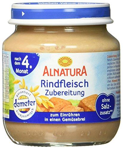 Alnatura Bio Rindfleisch-Zubereitung, 125 g