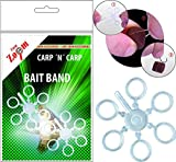 """CARP ZOOM"" Bait Band small Ø5mm Silikon Pellethalter Pelletband"