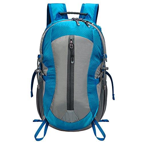 Preisvergleich Produktbild Homdox Wanderrucksack Herren und Damen Sport mit 25L,Blau