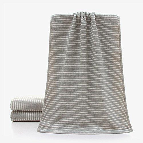 Baumwoll-Leinen Mehrzweck-Mikrofaser Schnelltrocknung Reise-Gym Handtücher (2 Stück Handtuch (Handtücher Kleine Turnhalle Schweiß)