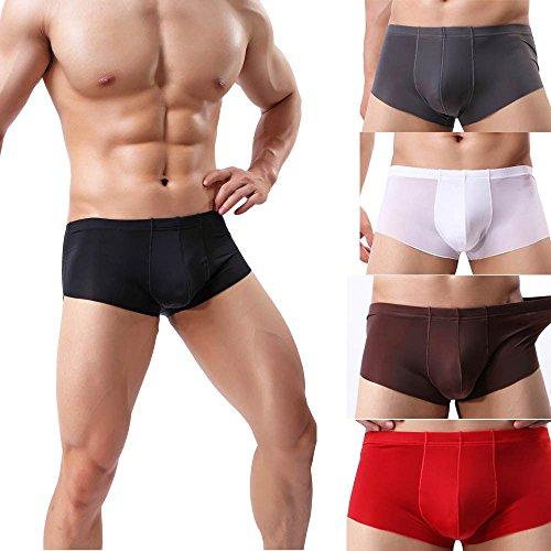 Boxer-Uomo-Perizomi-Slip-Classico-Colori-Cuciture-Laterali-Fantasia-Styldedresser-Pantaloni-Morbidi-Da-UomoSlip-Mutandine-Pantaloncini-Biancheria-Intima-Sexy-Colore-Puro
