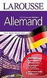 Dictionnaire Larousse poche plus français-allemand / allemand-français