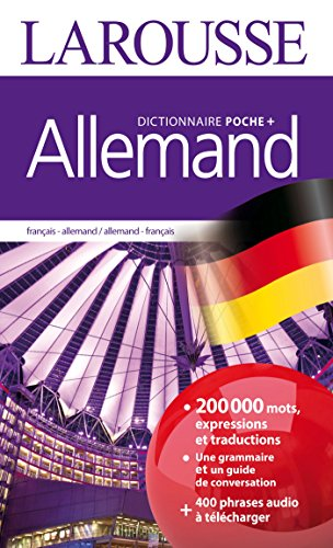 Dictionnaire Larousse poche plus Allemand