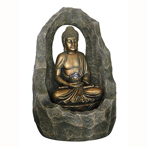 buddha-zen-arch-cave-indoor-outdoor-water-feature-fountain-gold-grey