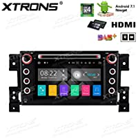 XTRONS HDMI 2 G RAM 16 G ROM Android 7.1 Quad Core 7 Inch HD Digital