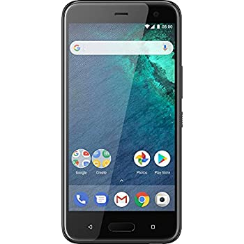 htc u11 smartphone 5 5 zoll brilliant black mit amazon. Black Bedroom Furniture Sets. Home Design Ideas