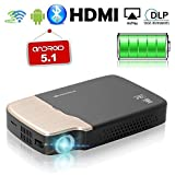 Best Dlp Projectors - DLP WiFi Projector Portable, Wireless Android Projector 1080p Review