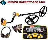 GARRETT ACE 400i Premium Set Metalldetektor Metalllsuchgerät Detektor ACE 400 i Metal Detector