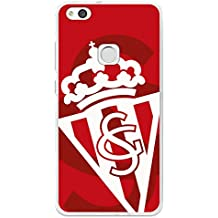 Carcasa Oficial Sporting Blanco Sobre Rojo Huawei P10 Lite