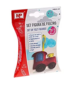 MP Set Figura de Fieltro Tractor PM251-45