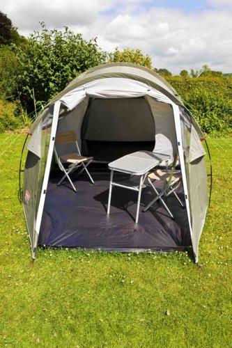 Coleman 3+ Coastline Tent Green/Grey 3 Person & Coleman 3+ Coastline Tent Green/Grey 3 Person - UKsportsOutdoors