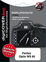 digiCOVER LCD Screen Protection Film for Pentax Optio WS80