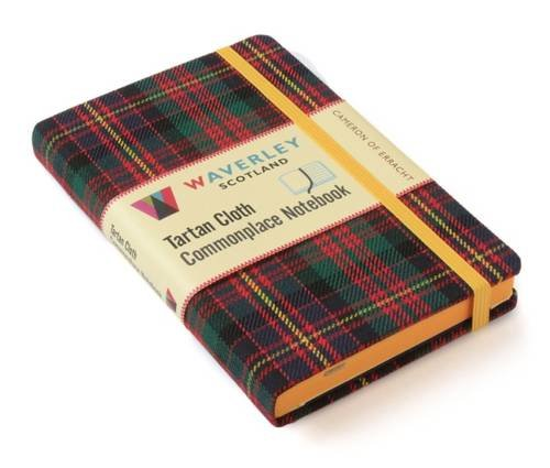 Cameron of Erracht: Waverley Genuine Tartan Cloth Commonplace Notebook (9cm x 14cm) (Waverley Scotland Tartan Cloth Commonplace Notebooks/Gift/stationery/plaid, Band 3) Cameron Tartan Band