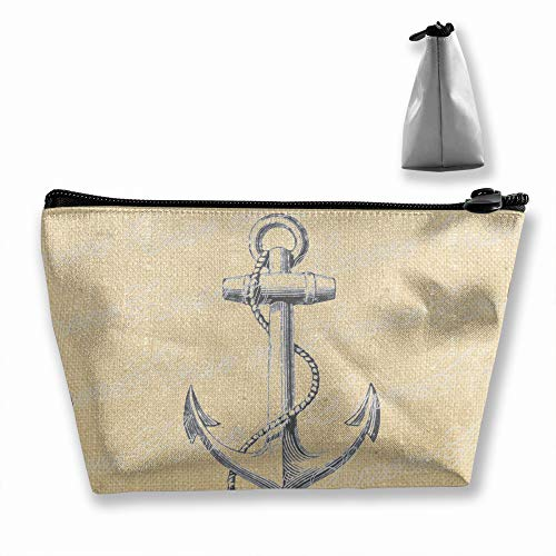 Fighwy Kulturtasche mit Anker-Motiv, nautisches Meer - Duschvorhang-sets Meer