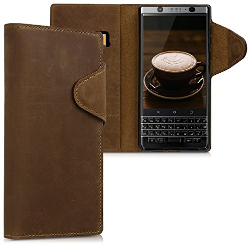 kalibri-Blackberry-KEYone-Key1-Hlle-Leder-Handyhlle-fr-Blackberry-KEYone-Key1-Handy-Wallet-Case-Cover