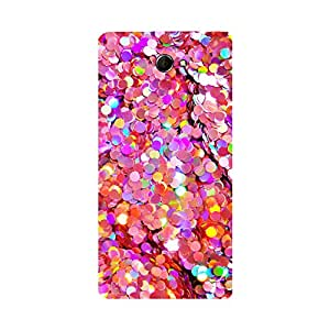 Digi Fashion Designer Back Cover with direct 3D sublimation printing for Sony Xperia M2 Dual