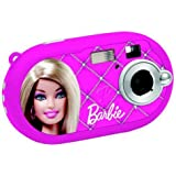 Lexibook DJ028BB Barbie Digitalkamera (5 Megapixel, 3,6 cm (1,4 Zoll) Display, 8MB interner Speicher) pink
