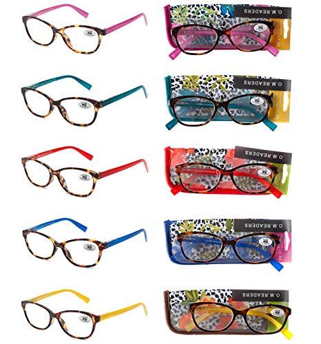 Pack 5 Gafas Lectura Vista Cansada Presbicia