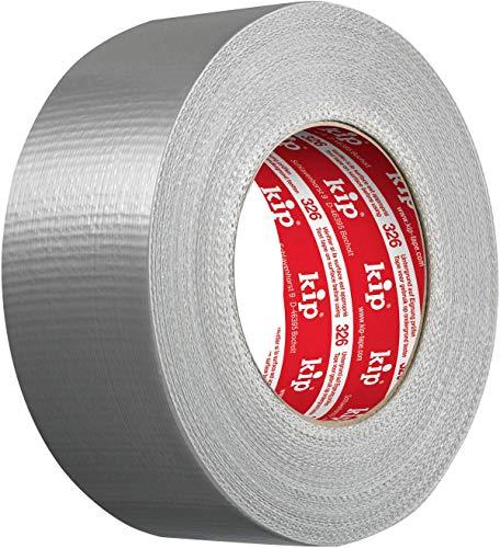 Kip Tape 326-50 Steinband - Wasserabweisendes Gewebeband aus PE für Putz und Stein - Starkes Panzertape für Abdeckarbeiten - 50mm x 50m