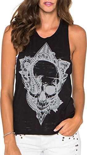 Metal Mulisha T-Shirt / Top / Tank AWAKENING TANK Weiß Black