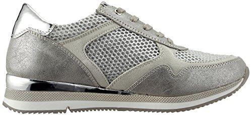 Sneaker Tozzi silber 23701 Damen Marco silver comb q6x8BZz