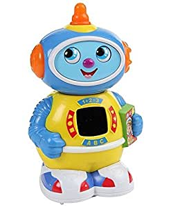 Mee Mee Space Robo Bump and Go Musical Toy (Multi Color)