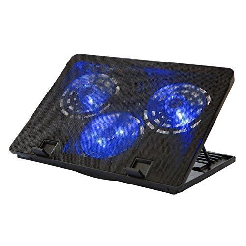 XZHXQ&KXMYT Notebook Kühlung Halter Einstellung Base Led Große Fan Höhenverstellung Base 360 * 260 * 40 Mm