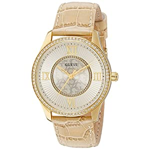 Guess Reloj analogico para Mujer de Cuarzo con Correa en Tela W0768L2