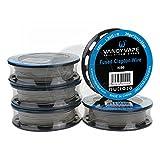 VandyVape Clapton Wires Serie Wickeldraht Größe SS Fused Clapton Wire SS316L/28ga*2(=)+30ga 10ft