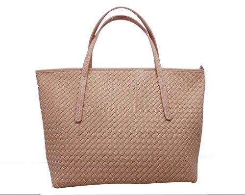 Frauen Einfach Lässig Tasche Umhängetasche Diagonal Paket Pink