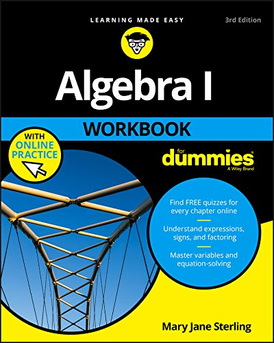 Algebra I Workbook For Dummies por Mary Jane Sterling